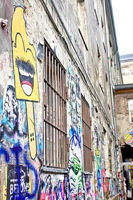 Building Factory Photograph - Street Art by Tom Gowanlock