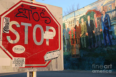 Street Art Washington D.c.  Art Print by Clay Cofer
