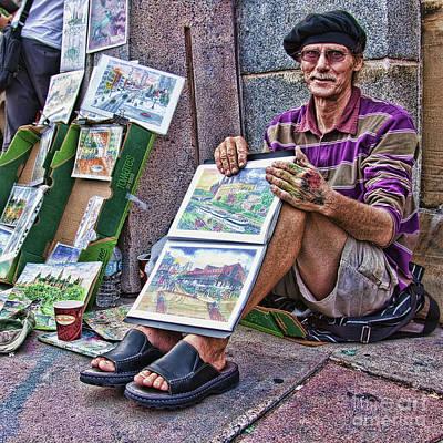 Photograph - Street Artist In Ottawa, Canada by Tatiana Travelways