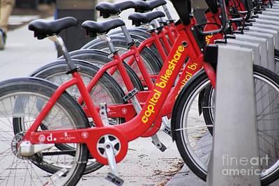 Photograph - Street Bikes by John S