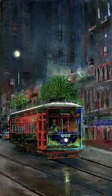 Digital Art - Street Car 905 by Eduardo Tavares