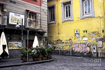 Photograph - Street Colors In Napoli by John Rizzuto