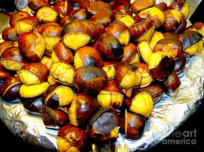 Photograph - Street Corner Chestnuts by Ed Weidman