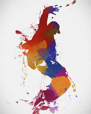 Painting - Street Dancer by Dan Sproul