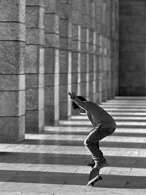 Pillars Photograph - Street Dancer by Fulvio Pellegrini