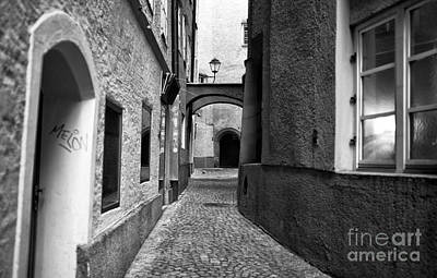 Photograph - Street Design In Salzburg by John Rizzuto