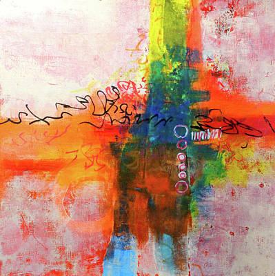 Painting - Street Fair 2 by Nancy Merkle