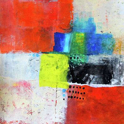 Painting - Street Fair 3 by Nancy Merkle