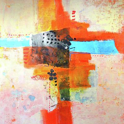 Painting - Street Fair by Nancy Merkle