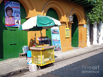 Photograph - Street Food In Cartagena by John Rizzuto