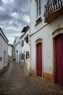 Photograph - Street In Alte Village by Carlos Caetano