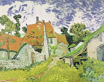 Painting - Street In Auvers Sur Oise by Artistic Panda
