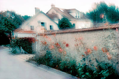 Photograph - Street In Giverny, France by Dubi Roman