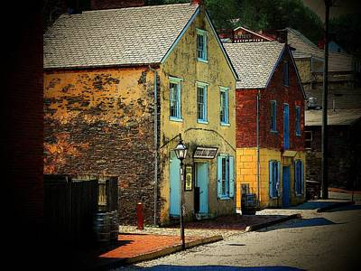 Street In Harper's Ferry Art Print