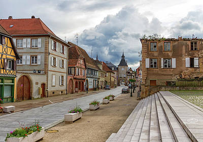 Photograph - Street In Rosheim, Alsace, France by Elenarts - Elena Duvernay photo