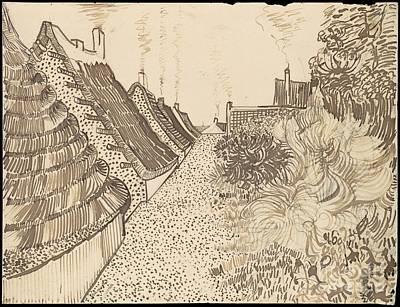 Painting - Street In Saintes-maries-de-la-mer by Celestial Images