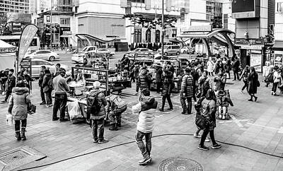 Photograph - Street In Seoul by Hyuntae Kim