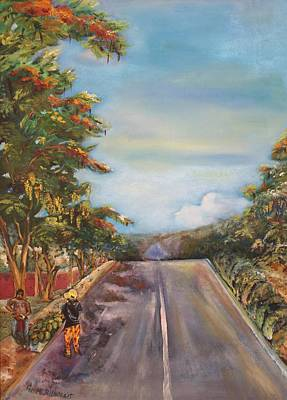 Painting - Street In Summer by Geeta Biswas