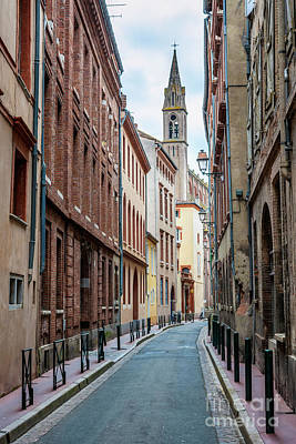 Photograph - Street In Toulouse by Elena Elisseeva