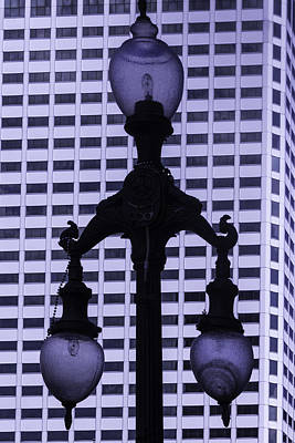 Orleans Photograph - Street Lamp New Orleans by Garry Gay