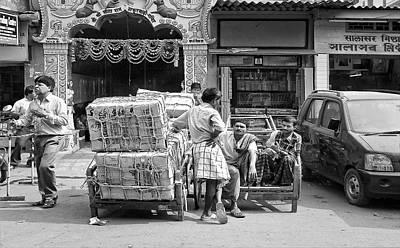 Photograph - Street Life In Guwahati by Roberto Pagani