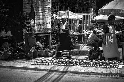 Photograph - Street Life In Kenya by Charuhas Images