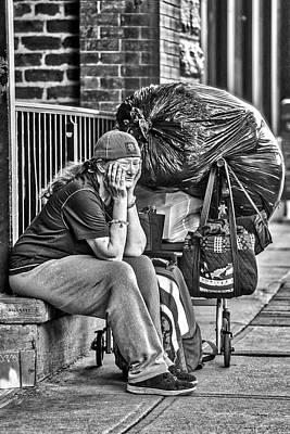 Photograph - Street Life by John Haldane