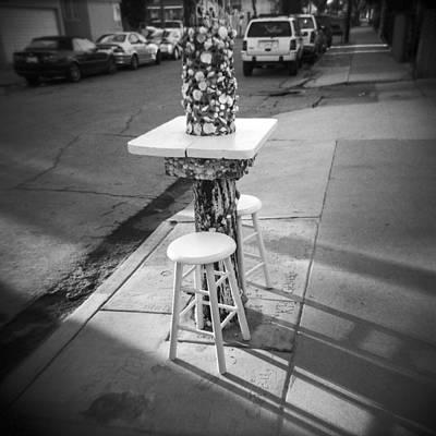 Photograph - Street Life by Sabine Konhaeuser