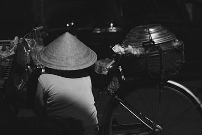 Photograph - street life Sai Gon by Tran Minh Quan