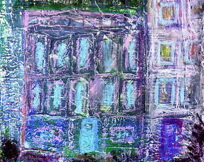 City Scape Painting - Street Life by Wayne Potrafka