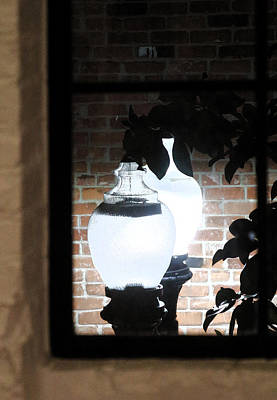 Photograph - Street Light Through Window by Viktor Savchenko