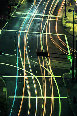 Photograph - Street Lights by Scott Meyer