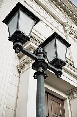 Streetlight Photograph - Street Lights by Tom Gowanlock