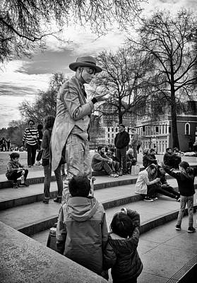 Photograph - Street Magic by Steven Clark
