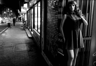 Suggestive Photograph - Street Mannequin # 3 by Daniel Gomez