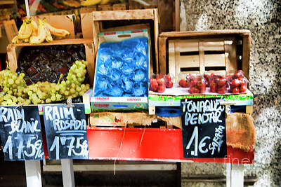 Bama Photograph - Street Market Barcelona  by Chuck Kuhn
