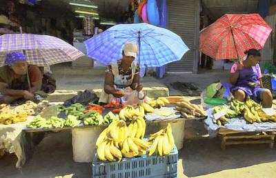 Photograph - Street Market by Nadia Sanowar