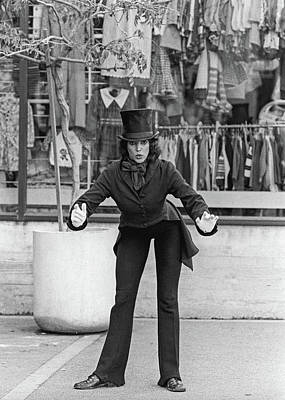 Photograph - Street Mime, San Francisco by Frank DiMarco