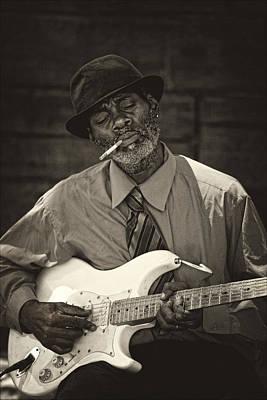 Keith Richards - Street Musician 5th Avenue NYC by Robert Ullmann