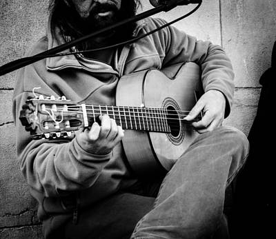 Musicians Royalty Free Images - Street musician - Seville Spain  Royalty-Free Image by AM FineArtPrints