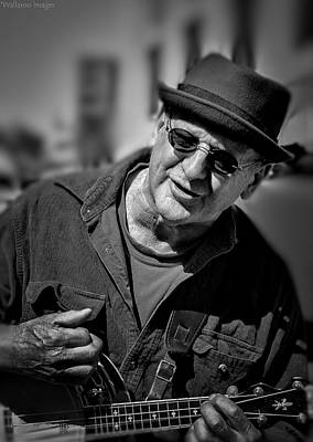Photograph - Street Musician by Wallaroo Images