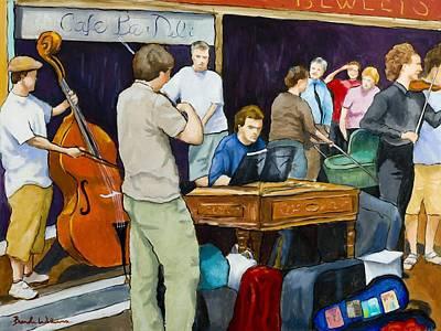 Street Musicians In Dublin Original