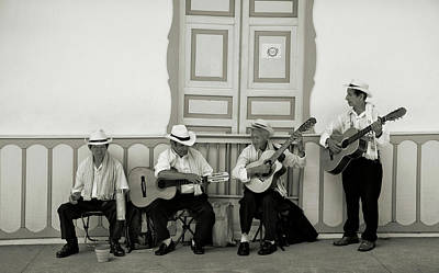 Musicians Royalty Free Images - Street Musicians Royalty-Free Image by Michael Evans