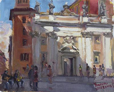 Street Musicians Pzza San Silvestri Rome Original