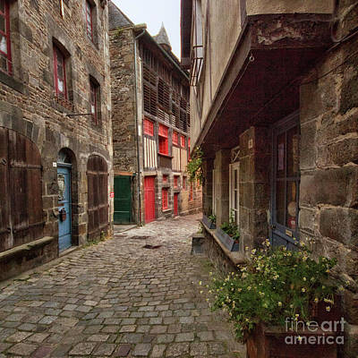 Photograph - Street Of Dinan by Dominique Guillaume