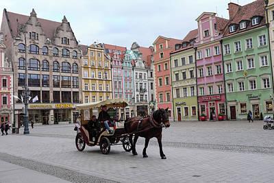 Photograph - Wroclaw Rynek by Dubi Roman