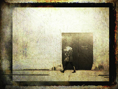 Digital Art - Street Photography - Closed Door by Siegfried Ferlin