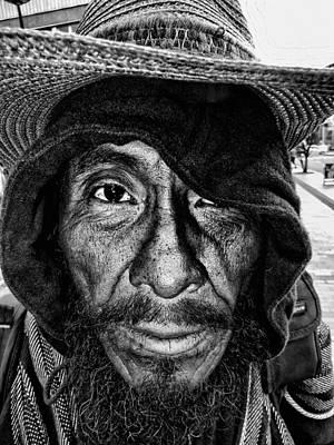 Street Portrait    189  Art Print by Daniel Gomez