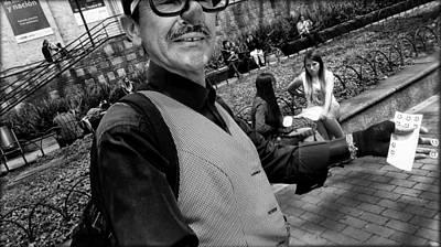 Revived Photograph - Street Portrait   192  by Daniel Gomez