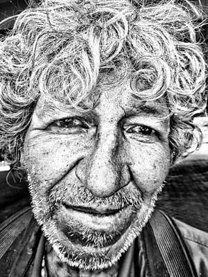 Street Portrait   198 Art Print by Daniel Gomez